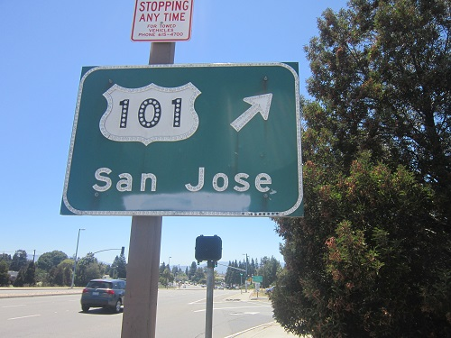 Silicon Valley, California, U.S. Highway 101 Interstate