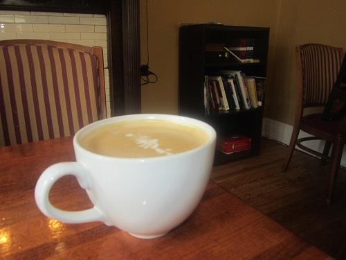Groove Coffee House, Covington, Kentucky, latte