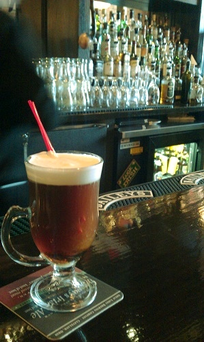 Irish Coffee, Logan's Irish Pub, Findlay, Ohio