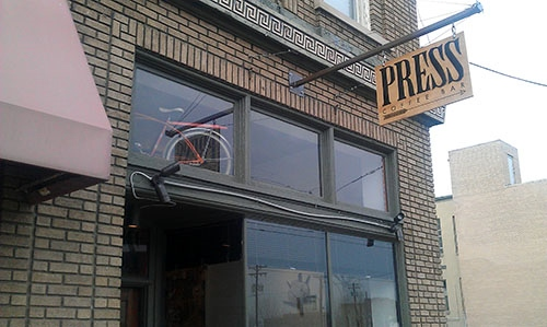 Press Coffee Bar, Dayton, Ohio
