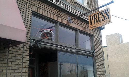 Press Coffee Bar, Dayton, Ohio