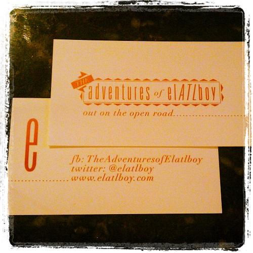 elATLboy.com business card