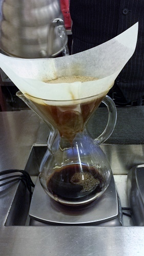 Intelligentsia Coffee pour over - Monadnock, Chicago