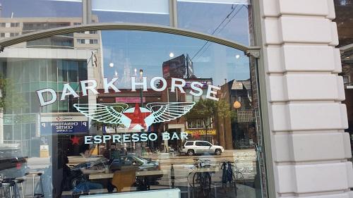 Dark Horse Coffee, Toronto, Ontario, Canada