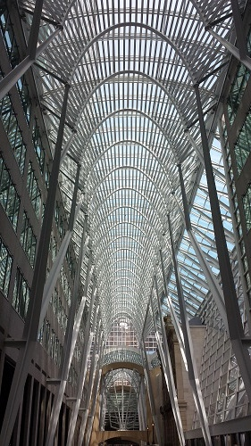 Allen Lambert Galleria, Toronto, Ontario, Canada