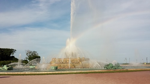 Buckingham Fountain, Grant Park, Chicago
