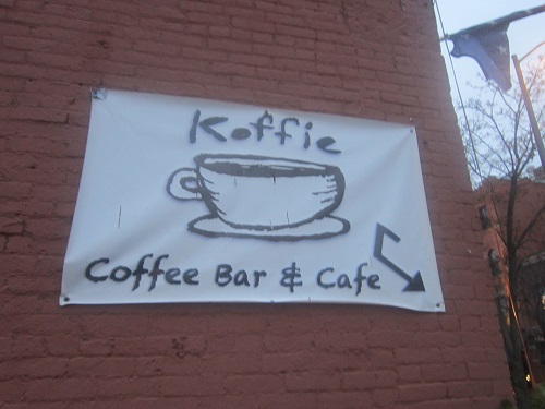 Koffie Cafe, Ohio City neighborhood, Cleveland