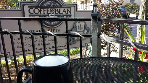 Plymouth Bean Coffee Company, Michigan, chai latte