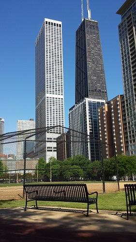 Lake Shore Park, Chicago, John Hancock Center