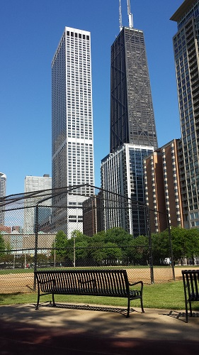 Lake Shore Park, Chicago, John Hancock Center