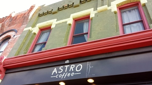 Astro Coffee, Corktown, Detroit, Michigan