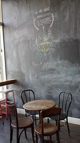 Astro Coffee, Corktown, Detroit, Michigan