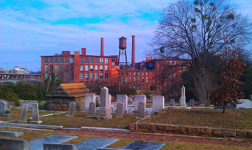 Atlanta, Georgia, Fulton Bag and Cotton Mills, Oakland Cemetery