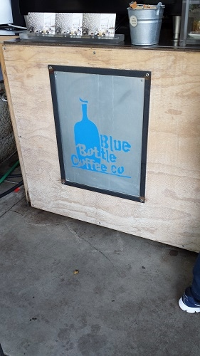 Blue Bottle Coffee Kiosk, Hayes Valley, San Francisco, California