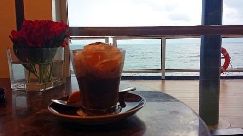Café al Bacio, Celebrity Solstice, Alaskan cruise, espresso, coffee