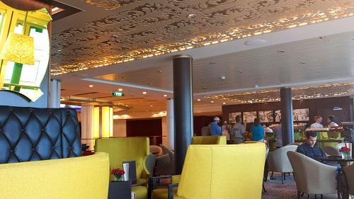 Café al Bacio, Celebrity Solstice, Alaskan cruise