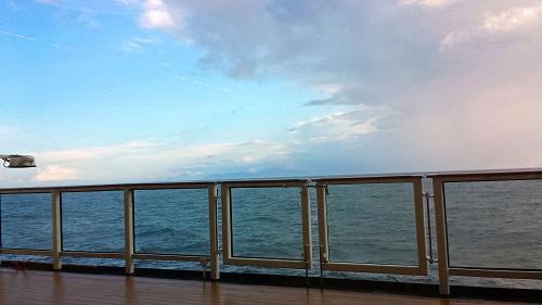 Café al Bacio, Celebrity Solstice, Alaskan cruise, Pacific Ocean