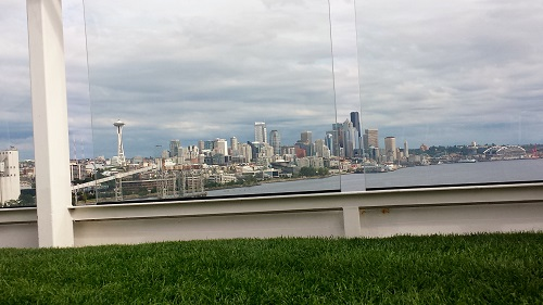 Seattle from aboard Celebrity Solstice, Alaskan Cruise