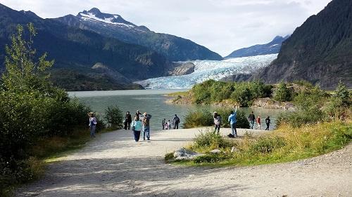 Mendenhall Glacier, Juneau, Alaska, alaskan cruise