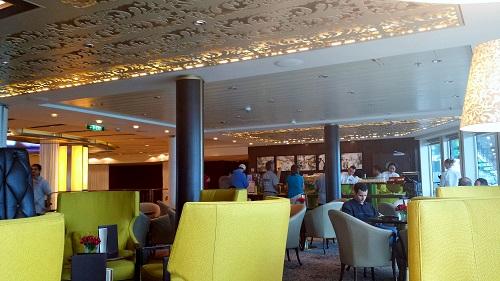 Café al Bacio, Celebrity Solstice cruise ship, coffee shop