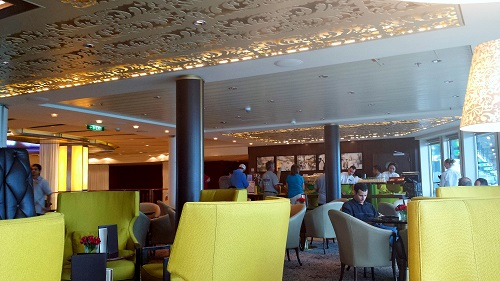 Café al Bacio, Celebrity Solstice cruise ship, coffee shop