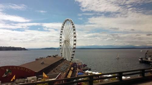 The Great Wheel, ferris wheel, Seattle, Washington