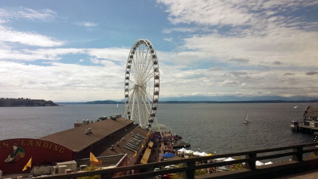 The Great Wheel, ferris wheel, Seattle, Washington