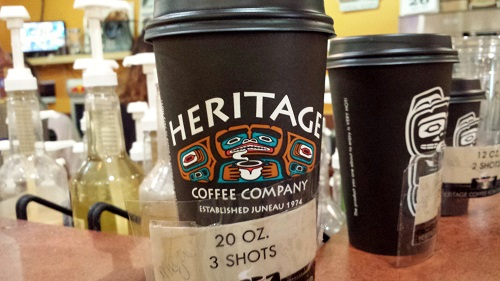 Alaska, Inside Passage, coffee, Juneau, Heritage Coffee