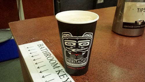 Alaska, Inside Passage, coffee, Juneau, Heritage Coffee