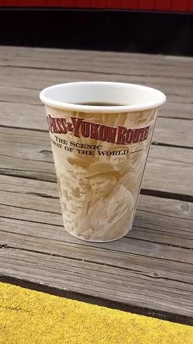 Alaska, Inside Passage, coffee, Skagway
