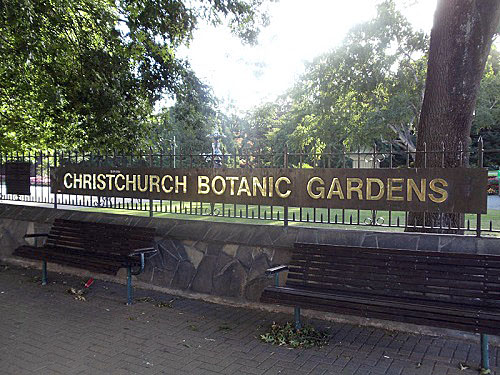Christchurch Botanic Gardens, New Zealand