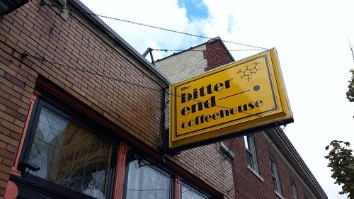 The Bitter End, coffee, Grand Rapids, Michigan
