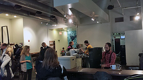 Intelligentsia Millennium Park, Chicago, Toarco, Jaya, Sulawesi Pour Over