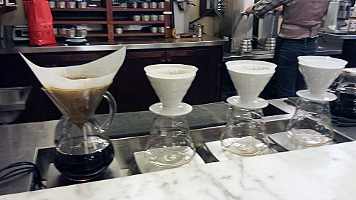 Intelligentsia Monadnock, Chicago, pour over