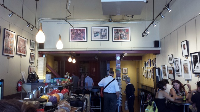 Local Color Art, Coffee & More, Pike Place Market, Seattle coffee shop