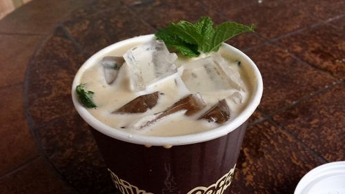 Mint Mojito Iced Coffee, Philz e.Coffee, Palo Alto, California