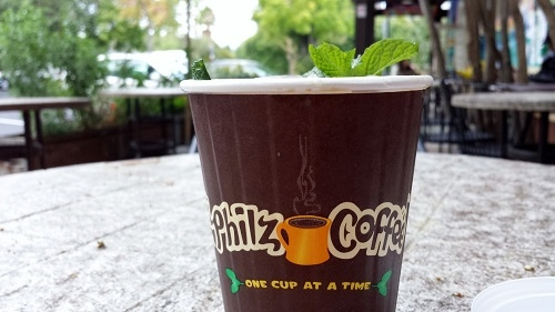 Mint Mojito Iced Coffee, Philz Coffee, Palo Alto, California