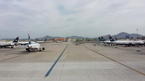 Phoenix, Arizona airport