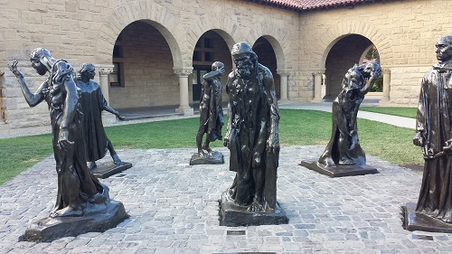 Stanford University, California. The Burghers of Calais