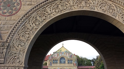 Stanford University, California, Memorial Church
