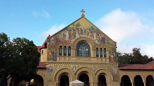 Stanford University, California, Memorial Church