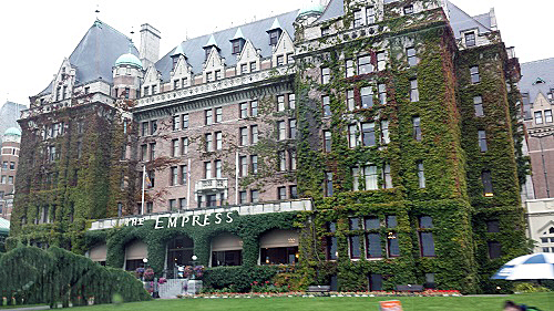 Victoria Empress Hotel, historic, Canada