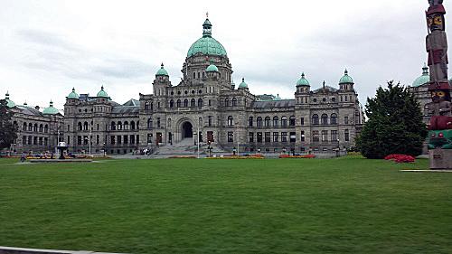 British Columbia Legislature Building, Victoria, Canada