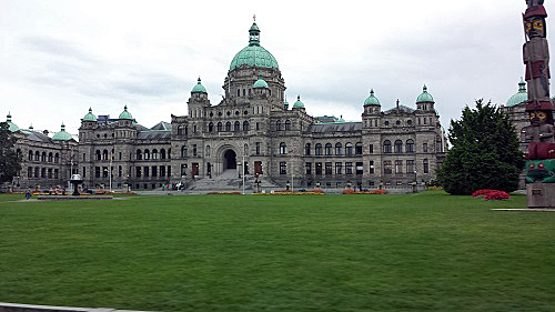 British Columbia Legislature Building, Victoria, Canada