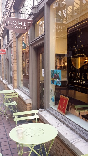 Comet Coffee, Latte, Ann Arbor