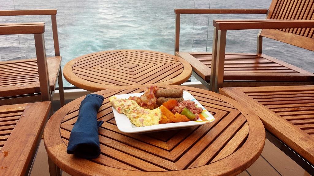 Celebrity Solstice Main Dining Room Breakfast