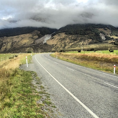 South Island, New Zealand, road trip