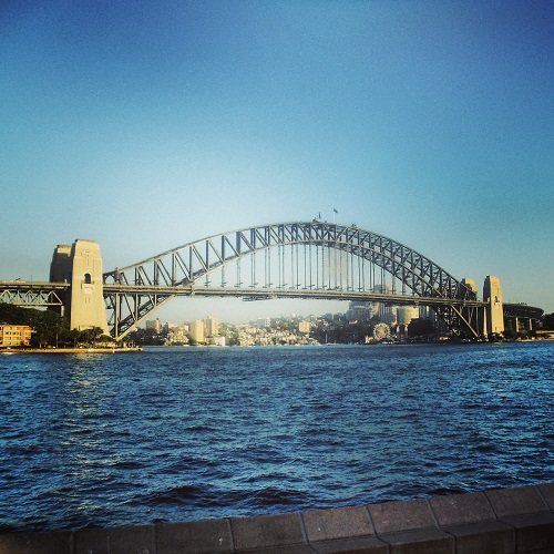 Sydney Harbour Bridge, Cove, Australia