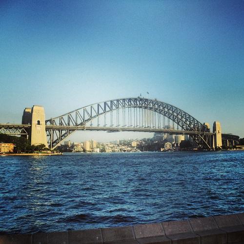 Sydney Harbour Bridge, Cove, Australia