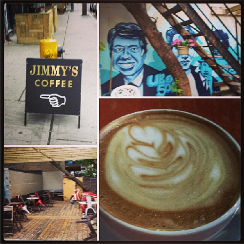Jimmy's Coffee, Toronto, coffee shop
